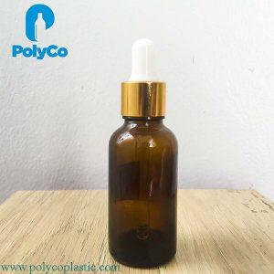 20ml brown serum bottle