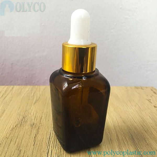 20ml square essential oil bottle