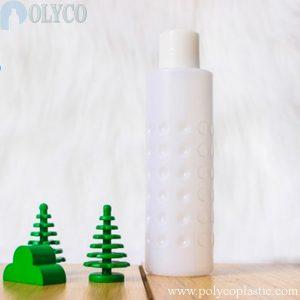 100ml white HDPE plastic bottle