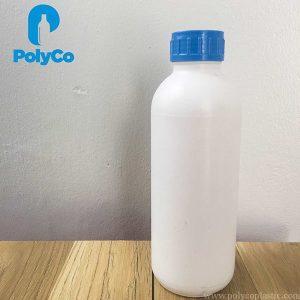 White HDPE plastic bottle, cheap plastic bottle