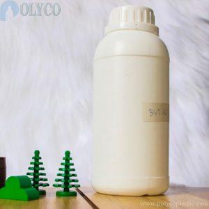 500ml white HDPE plastic bottle