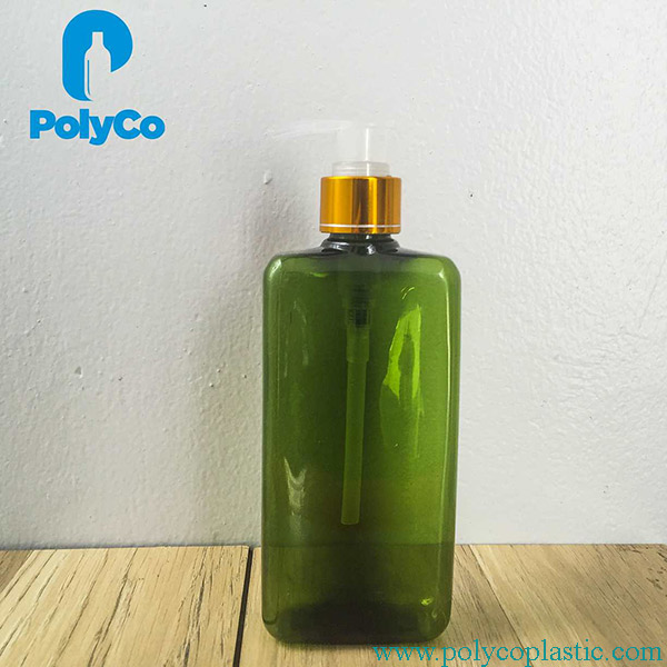 300ml square plastic bottle with dropper