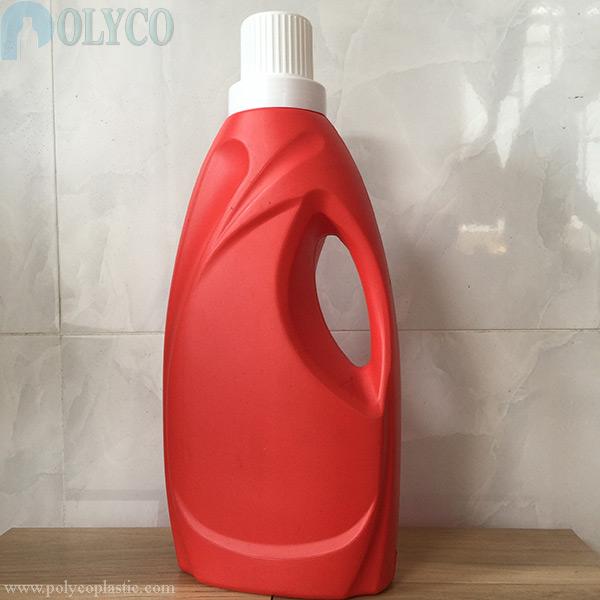 2 liter red fabric softener bottle