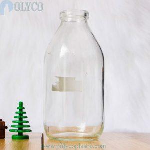 Glass bottle 300ml transparent color