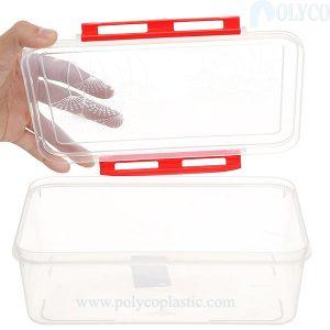 Caja de plástico de 1,6 litros de alta calidad