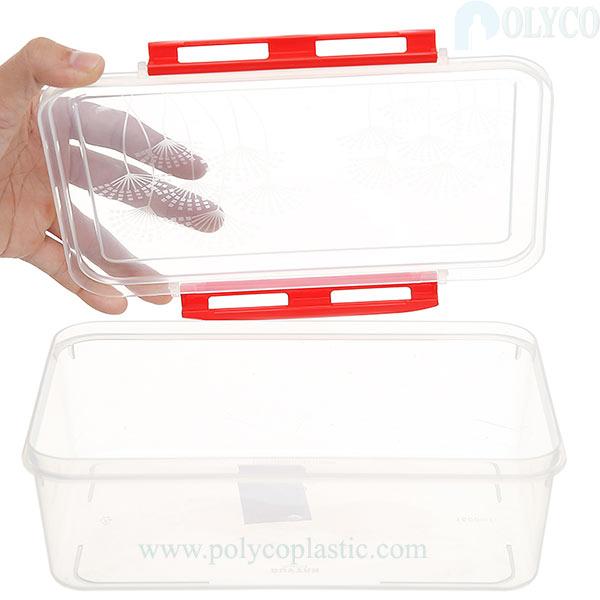 High quality 1.6 liter plastic box