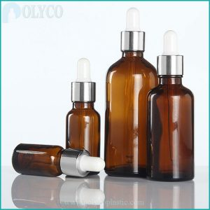 Bottle of brown essential oil from 5ml to 100ml