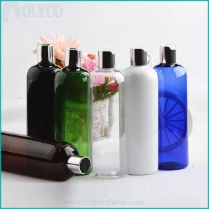 Plastic bottle for high-quality shampoo