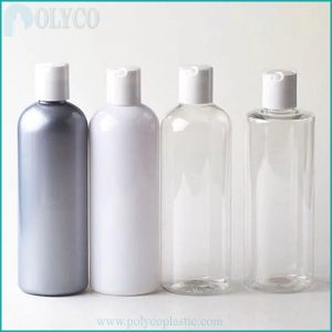 Cheap plastic shampoo bottle