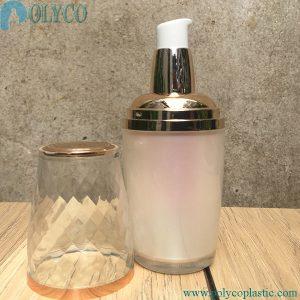 40ml round plastic bottle with drip cap