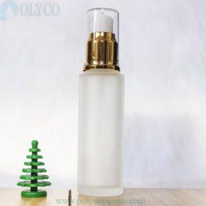 50ml glass bottle with drip spray cap