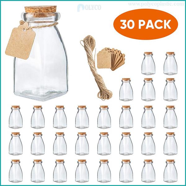 Glass bottle for yogurt 120ml
