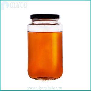 500ml glass food bottle