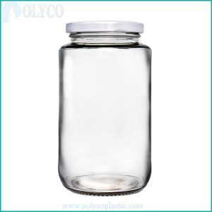 Cheap 500ml glass food bottle