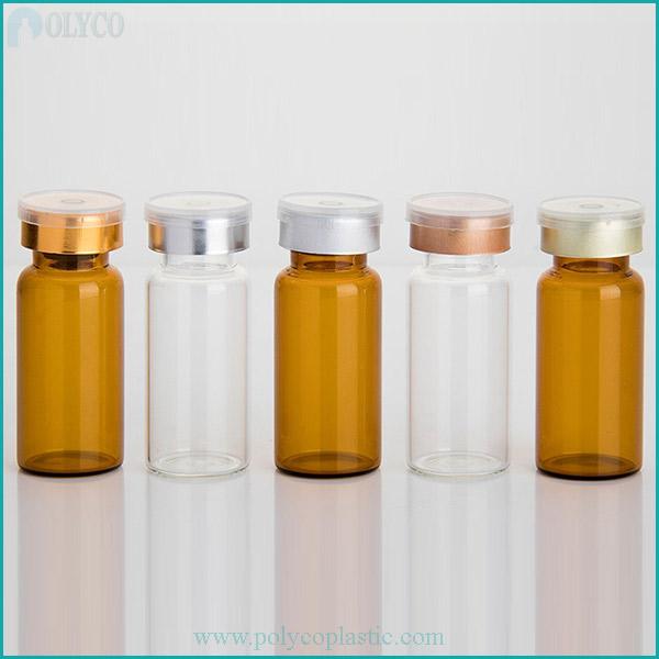 Medicine glass bottles of many sizes