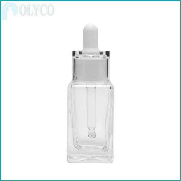 15ml square glass bottle containing beautiful essential oils