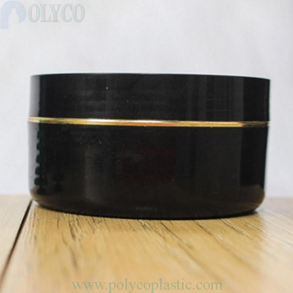 Black body cream jar 150gr