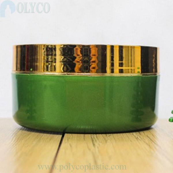 Green moss cream jar 150gr