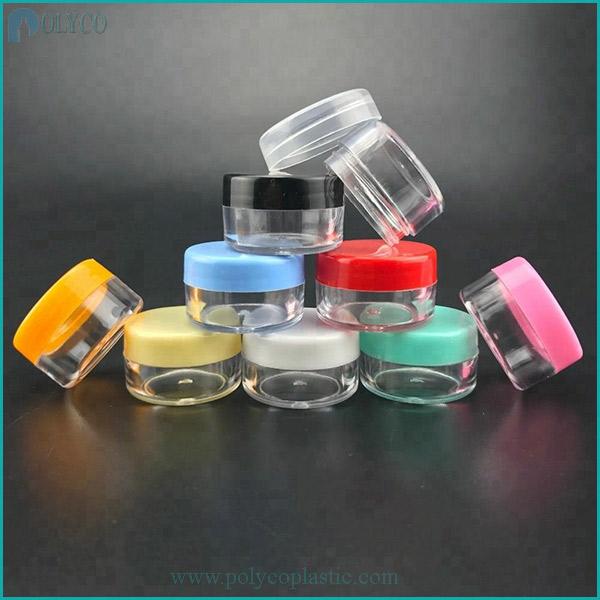 Plastic jar for high-end cosmetics 10gr