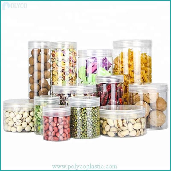 High quality plastic food jars