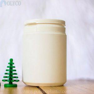Plastic jar containing medicine 200ml