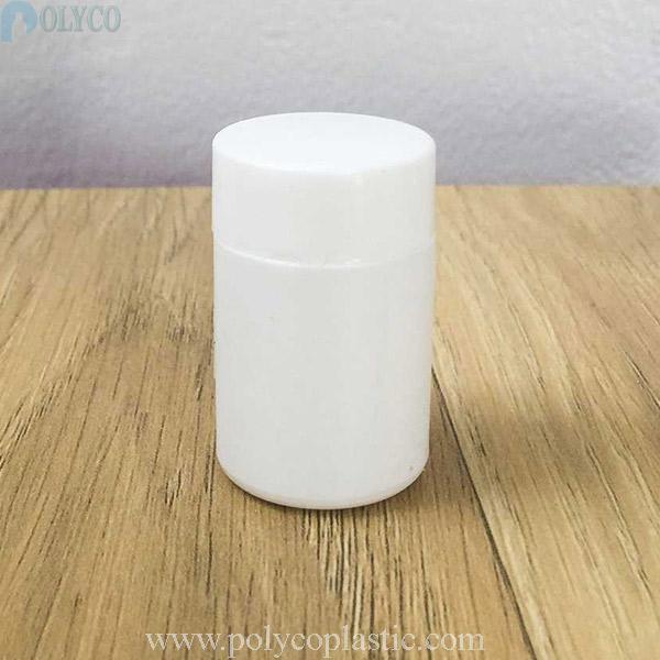 15ml HDPE plastic jar for medicine