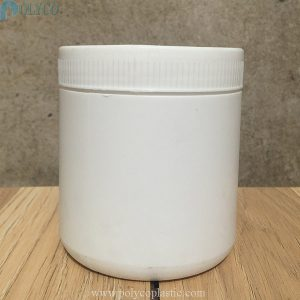 500ml HDPE plastic jar