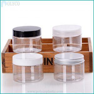150gr PET plastic jar, high quality plastic jar
