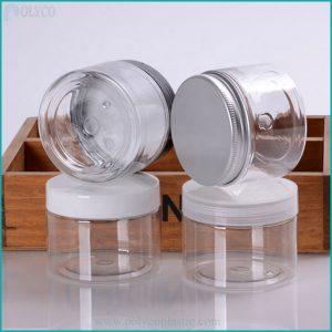 High quality 150gr PET plastic jar
