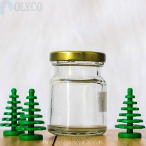 Glass jar containing oats 70ml